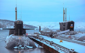 Picture pier, submarines, nuclear submarines