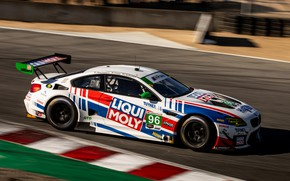 Picture coupe, speed, BMW, track, 2019, M6 GT3