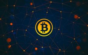 Picture logo, logo, fon, bitcoin, bitcoin, btc