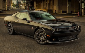 Picture Dodge, Challenger, Dodge Challenger, Tuning, Muscle car, R/T, Scat Pack