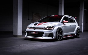 Picture Volkswagen, Golf, GTI, Oettinger, TCR, 2019, Germany Street