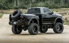 Picture Dodge, Truck, 1500, Pickup, Ram, Mopar, Vehicle, Off road