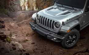 Picture front view, 2018, Wrangler, Jeep, Unlimited, Moab Edition