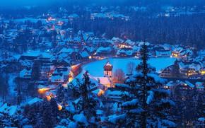 Picture winter, Germany, panorama, Baden-Württemberg, Hinterzarten