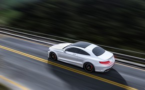 Picture Mercedes-Benz, White, Machine, Mercedes, Car, Render, AMG, Rendering, Sports car, White color, Transport & Vehicles, …