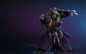 Picture Blizzard, Orc, Warrior, Gladiator, WarCraft, Mr--Jack, Rehgar, Rehgar Earthfury, World of WarCraft, Shaman, Mr Jack, ...