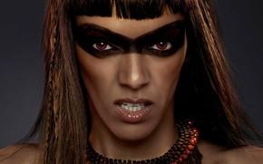 Picture girl, makeup, vampire, The Twilight Saga Dawn, The Twilight Saga Breaking Dawn - Part 2