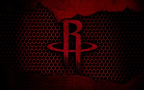 Picture wallpaper, sport, logo, basketball, NBA, Houston Rockets