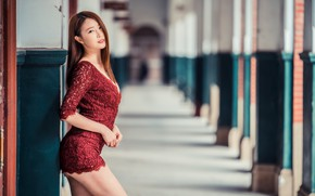 Picture girl, face, background, model, figure