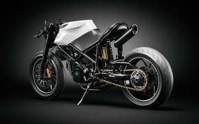 Picture motorcycle, Ducati, Andreas Ezelius, Ducati Custom Café Fighter
