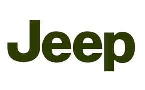 Picture background, green, logo, jeep, logo, jeep, fon