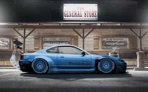 Picture Auto, Machine, Tuning, S15, Silvia, Nissan, Rendering, Nissan Silvia, Nissan Silvia S15, Side view, Dmitry …