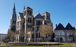 Picture the city, France, Saint-Etienne cathedral of Châlons-en-Champagne, Cathedral Saint-étienne, Chalons-EN-champagne