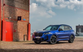 Picture BMW, 2021, F97, X3 M Competition