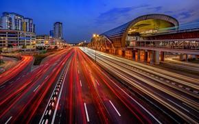 Picture the city, lights, Kuala Lumpur