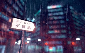 Picture the city, rain, index, by K&P