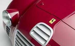 Picture Ferrari, Lights, Classic, 1947, Classic car, Icon, Sports car, Sports car, Ferrari 125 Sport