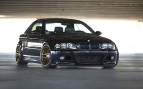 Picture BMW, Black, E46, Parcking