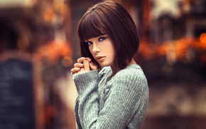 Picture look, girl, hairstyle, Lods Franck, Marie Grippon