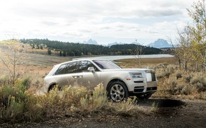 Picture Rolls-Royce, the roads, 2018, Cullinan
