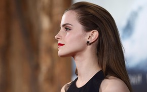 Picture makeup, actress, profile, Emma Watson, Emma Watson, photoshoot, model, hair, model, actress