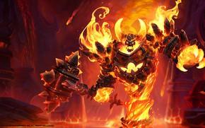 Picture Blizzard, Art, WarCraft, Mr--Jack, by Mr--Jack, World of WarCraft, Mr Jack, by Mr Jack, Firelord, …