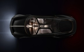 Picture coupe, Bentley, the view from the top, concept car, 2019, EXP 100 GT