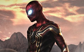Picture spider-man, costume, superhero, Marvel, comic, Comics, Spider-Man, Peter Parker, Far From Home