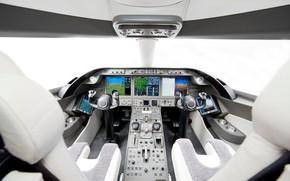 Picture plane, jet, cockpit