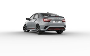 Picture sedan, rear view, Lada, Lada, 2018, Sport, Vesta, Vesta, AvtoVAZ
