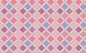Picture abstraction, pink, geometry