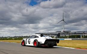 Picture Porsche, Speed, Windmill, Track, Wing, 2019, Porsche 935, Porsche 935 (991)