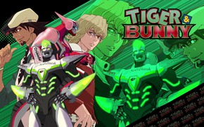 Picture anime, art, characters, Kotetsu, tiger and bunny, Barnaby