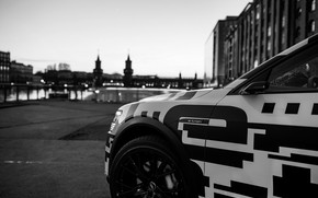 Picture the city, Audi, 2018, the river, E-Tron Prototype