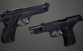 Picture Italy, Self-loading pistol, Beretta 92FS