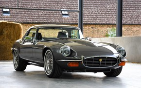 Picture Classic, Jaguar E-Type, Sportcar