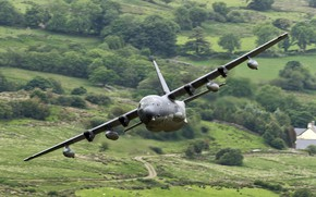 Picture the plane, Lockheed, military transport, Hercules, C-130