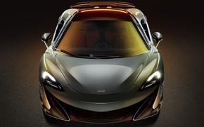 Picture McLaren, supercar, front view, 2019, 600LT