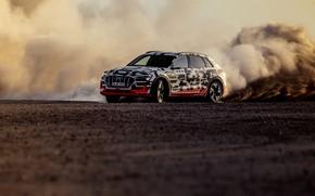 Picture sand, Audi, dust, 2018, E-Tron Prototype
