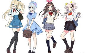 Picture Style, Anime, Girls