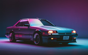 Picture Nissan, Coupe, Skyline, Turbo, R30, Dohc