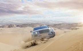 Picture Sand, Desert, Hills, Crossover, Bentley Bentayga