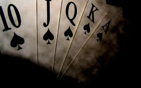 Picture card, the suit, poker