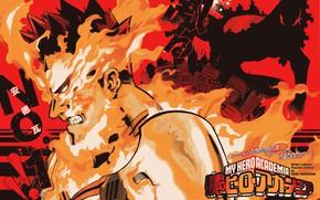 Picture fire, My Hero Academia, Boku No Hero Academy, My Hero Academy, Todoroki