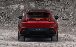 Picture Aston Martin, rear view, crossover, DBX, 2020
