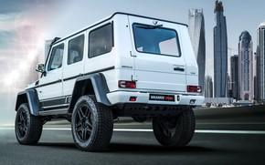 Picture Dubai, Mercedes - Benz, Final Edition, Brabus 700, White car