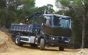 Picture trees, truck, Renault, body, primer, CMU, Renault Trucks, K-series