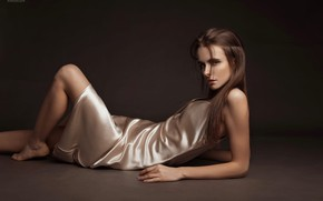 Picture look, girl, pose, background, dress, Natasha, Eugene Angels, Angelov