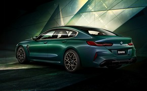 Picture coupe, BMW, ass, First Edition, 2020, 2019, M8, the four-door, M8 Gran Coupe, F93