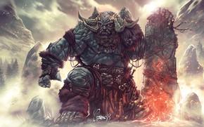 Picture Figure, Monster, Fantasy, Art, God of War, Fiction, Troll, Troll, Characters, Giant, Myth, Mythology, Andrea …